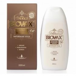 BIOVAX Argan Makadamia Kokos Intensywnie regenerujący szampon 200ml