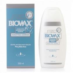 BIOVAX Intensywnie regenerujący szampon Keratyna + Jedwab 200ml