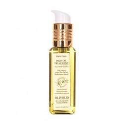Oliwkowy olej leczniczy do włosów z witaminami i filtrem UV Olivolio 90 ml