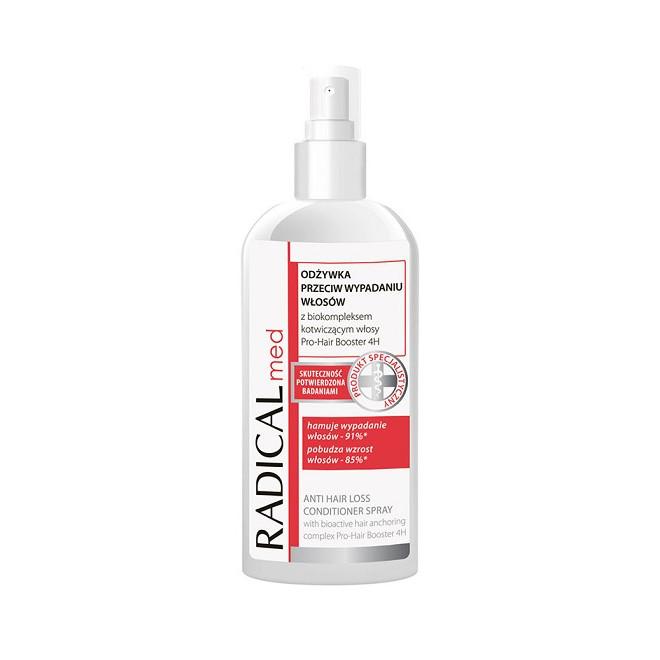 Odżywka przeciw wypadaniu włosów w sprayu RADICAL med 200ml