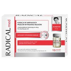 Kuracja w ampułkach przeciw wypadaniu włosów dla mężczyzn RADICAL med 15x 5ml